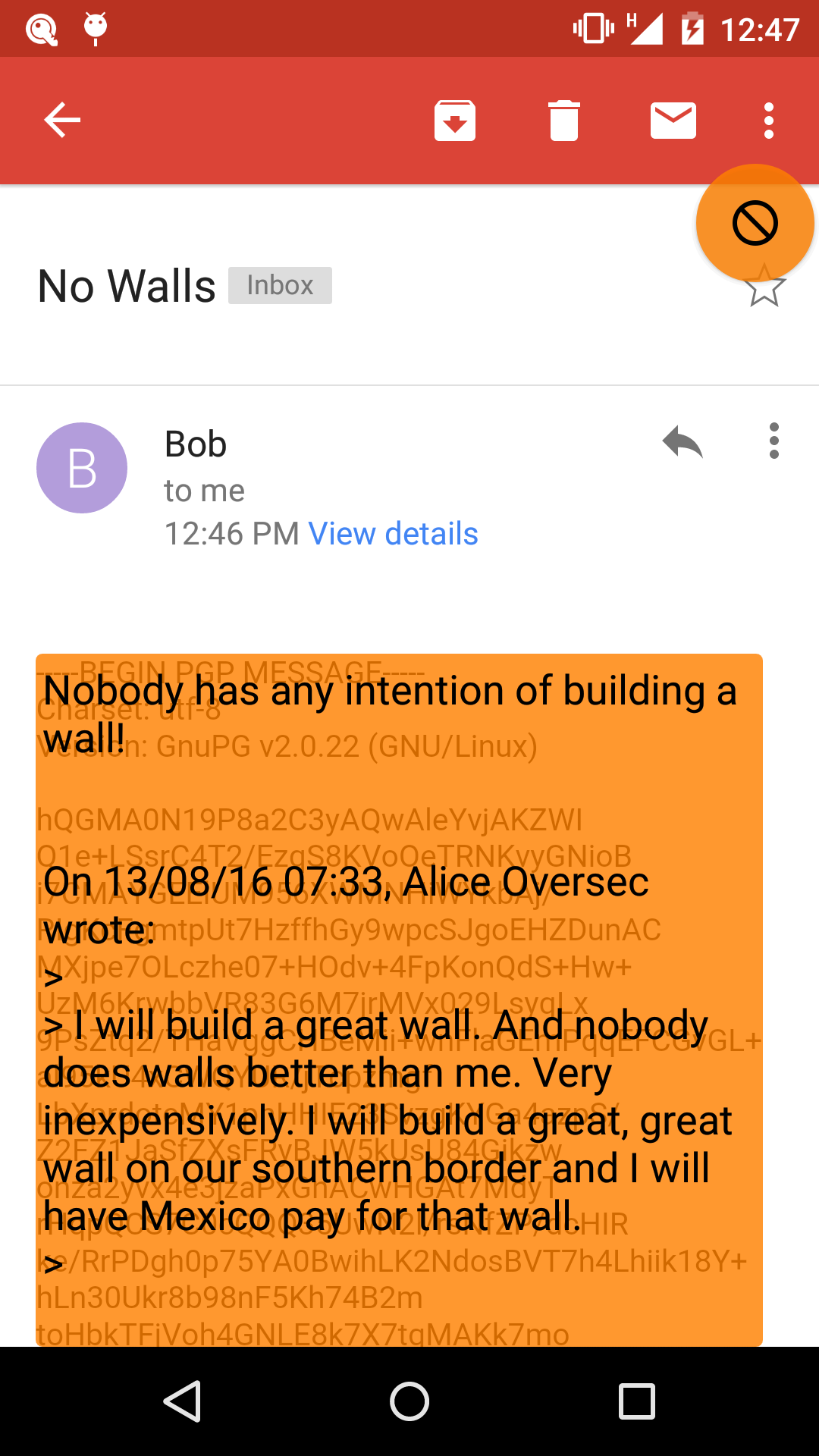 OVERSEC - Privacy for all Android Apps